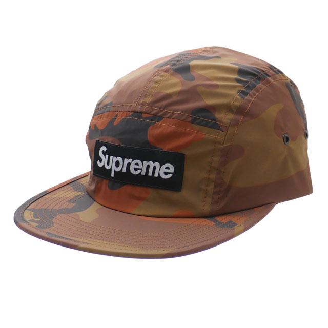 シュプリーム SUPREME Reflective Camo Camp Cap キャンプキャップ ORANGE 265001089118 【新品】