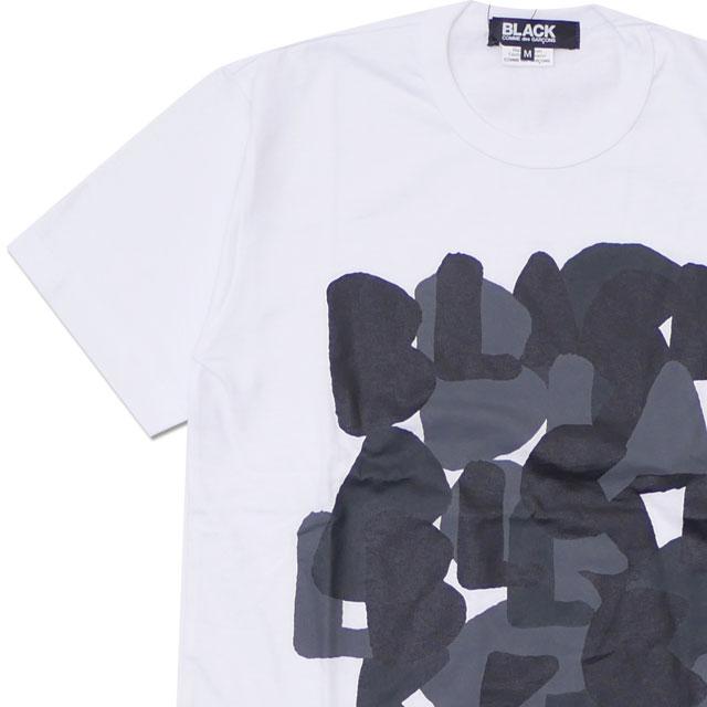 [次回のお買い物で使える500円OFFクーポン配布中!! 4/30(火)まで!!] ブラック コムデギャルソン BLACK COMME des GARCONS BLACK LOGO TEE Tシャツ WHITE 200007973040 【新品】