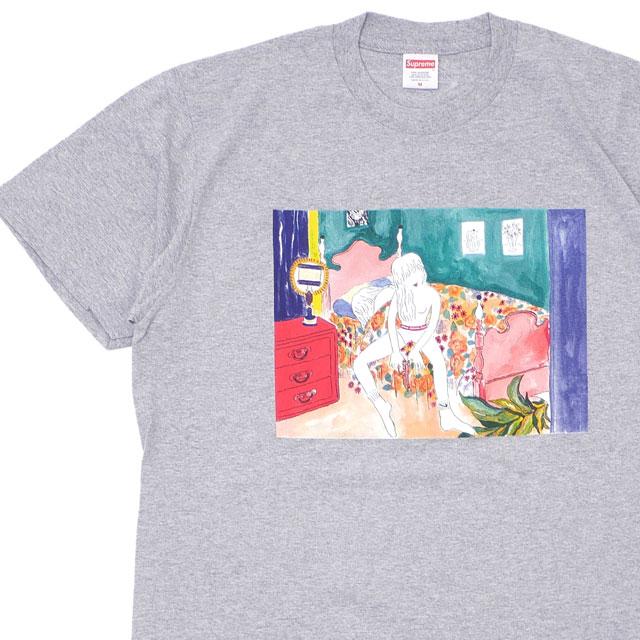 シュプリーム SUPREME Bedroom Tee Tシャツ GRAY 200007960042 【新品】