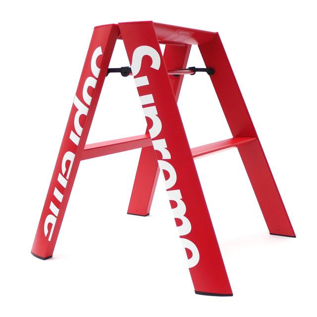 [次回のお買い物で使える500円OFFクーポン配布中!! 4/30(火)まで!!] シュプリーム SUPREME Lucano Step Ladder ステップラダー 脚立 RED 290004788013 190001885013 【新品】