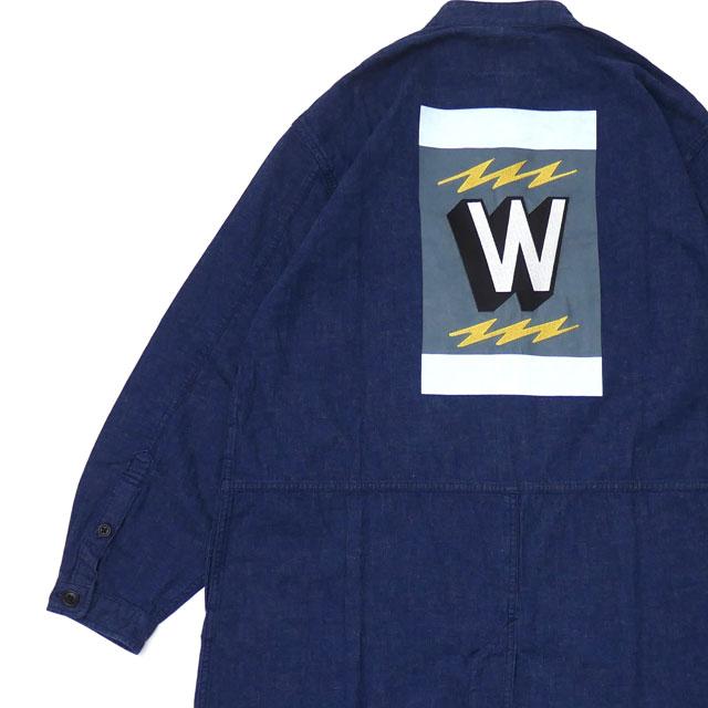 ダブルタップス WTAPS DOC SHIRT 長袖シャツ ジャケット 182GWDTSHM03 INDIGO 216001560047 【新品】