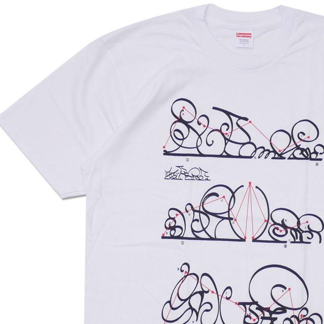 シュプリーム SUPREME System Tee Tシャツ WHITE 200008004250 【新品】