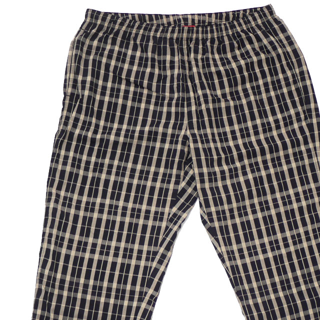 シュプリーム SUPREME 18FW Nylon Plaid Track Pant パンツ TAN メンズ 【新品】 2018FW 418000397066