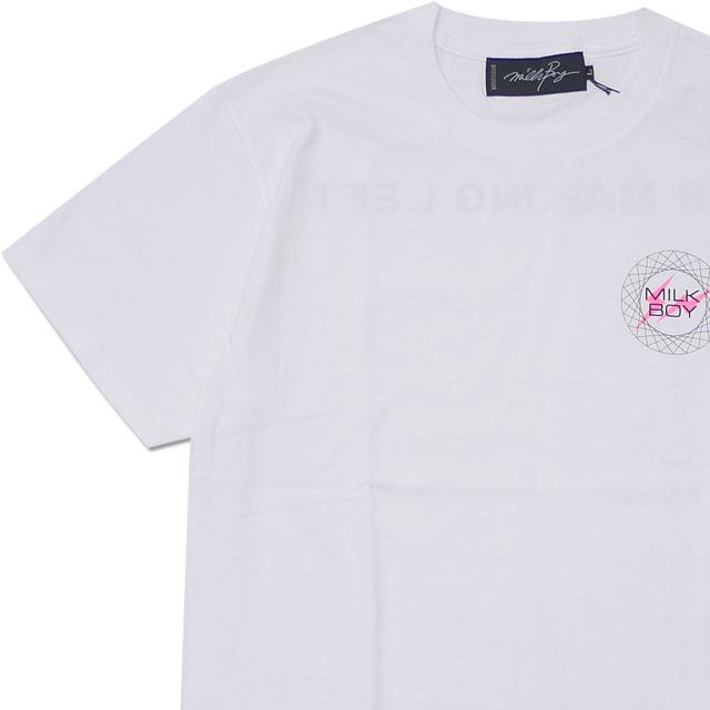 ミルクボーイ MILK BOY x フラグメントデザイン Fragment Design Mister Making Left Tee Tシャツ WHITE ホワイト 白 メンズ 【新品】 200008019050