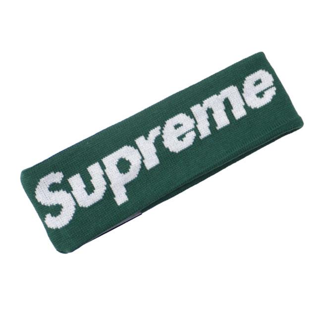 シュプリーム SUPREME 18FW New Era Big Logo Headband ニューエラ ヘッドバンド DARK GREEN グリーン 緑 メンズ 【新品】 2018FW 290004826015