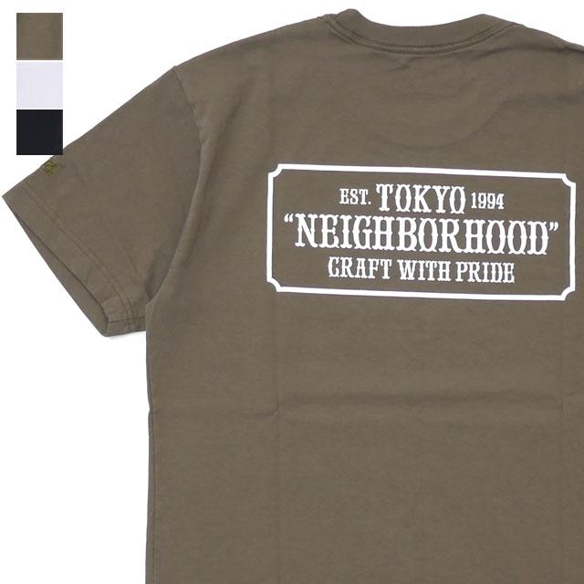ネイバーフッド NEIGHBORHOOD 18AW BAR&SHIELD C TEE SS Tシャツ メンズ 18AW BAR&SHIELD Tシャツ【新品】 2018AW 182PCNH ST04 200008025050, アジアン家具 Q-STYLE:40a47ac2 --- 2017.goldenesbrett.at