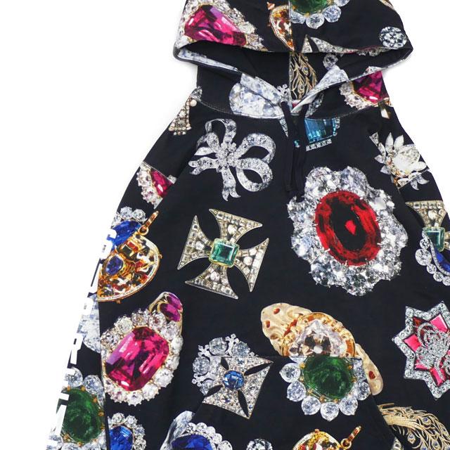 シュプリーム SUPREME 18FW Jewels Hooded Sweatshirt スウェットパーカー BLACK ブラック 黒 メンズ 【新品】 2018FW 418000421031