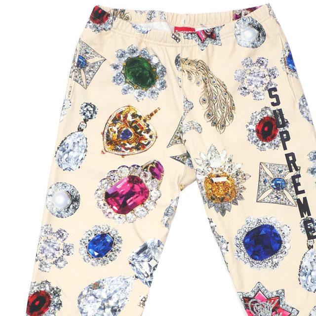 シュプリーム SUPREME 18FW Jewels Sweatpant スウェットパンツ CREAM クリーム メンズ 【新品】 2018FW 418000422046