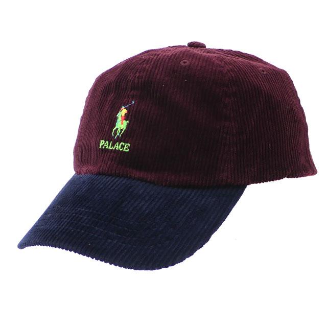 Palace skateboarding Palace Skateboards x polo Ralph Lauren POLO RALPH  LAUREN CORDUROY CAP cap RED MULTI red red 265001124013 8cb10b26c1ff
