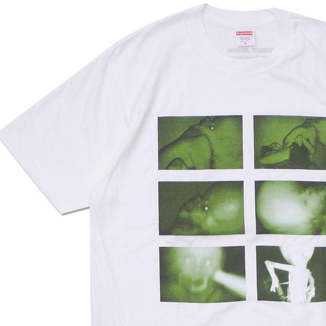 [次回のお買い物で使える500円OFFクーポン配布中!! 4/30(火)まで!!] シュプリーム SUPREME Rubber Johnny Tee Tシャツ WHITE ホワイト 白 メンズ 【新品】 200008043030