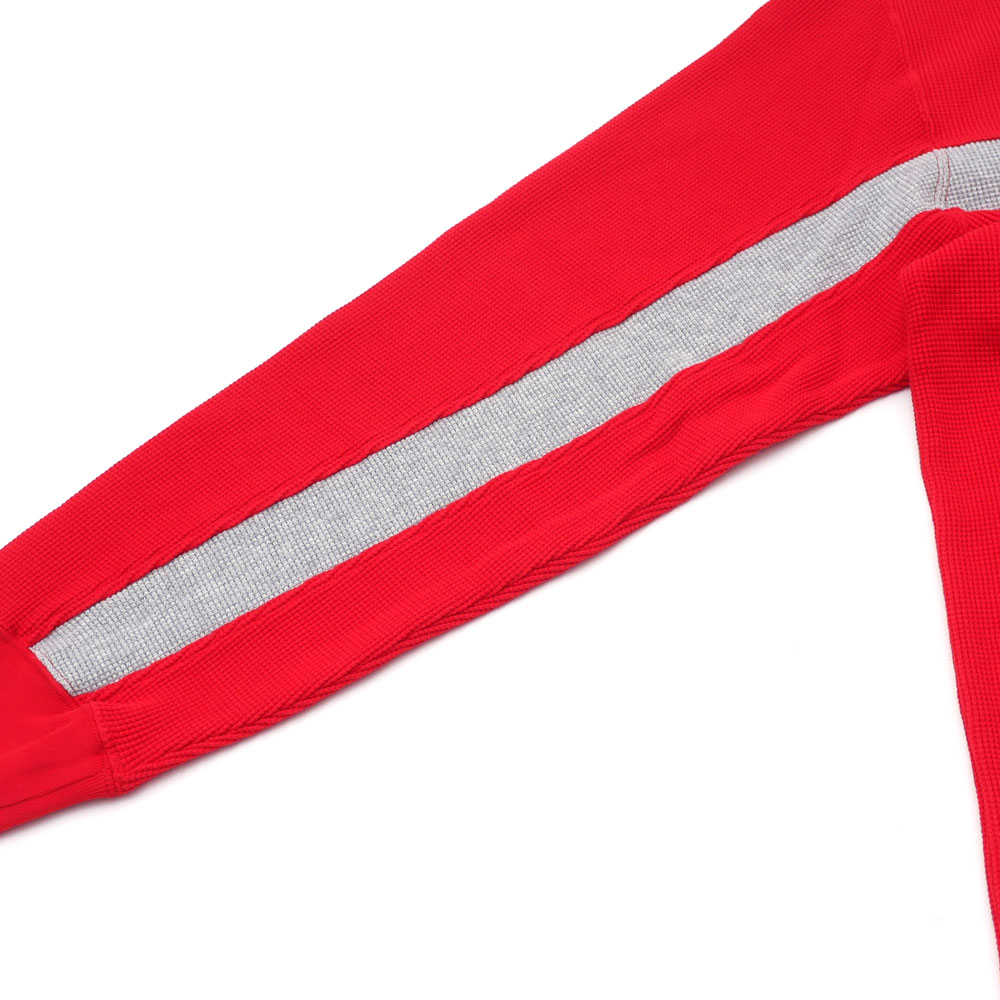 42fe6d4b50 ... シュプリーム SUPREME Panel Stripe Waffle Thermal long sleeves T-shirt RED red  red men 418000458063 ...