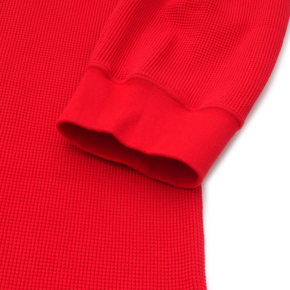 c65919e734 ... シュプリーム SUPREME Panel Stripe Waffle Thermal long sleeves T-shirt RED red  red men 418000458063