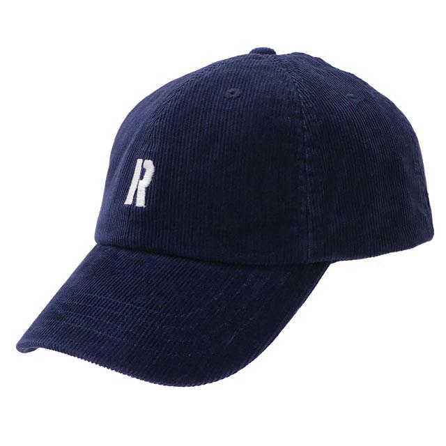 ロンハーマン RHC Ron Herman 福岡店OPEN記念 R CORDUROY CAP キャップ NAVY ネイビー 紺 メンズ レディース 【新品】 265001130017