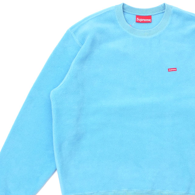 f176c5f17868 シュプリーム SUPREME 18FW Polartec Small Box Crewneck sweat shirt LIGHT BLUE blue  blue men 2018FW 209000536134