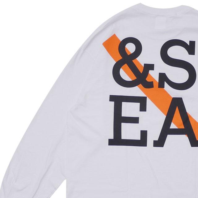 サタデーズ・サーフ・ニューヨーク SATURDAYS SURF NYC x ウィンダンシー WIND AND SEA LS TEE 長袖Tシャツ WHITE ホワイト 白 メンズ 【新品】 202001027050