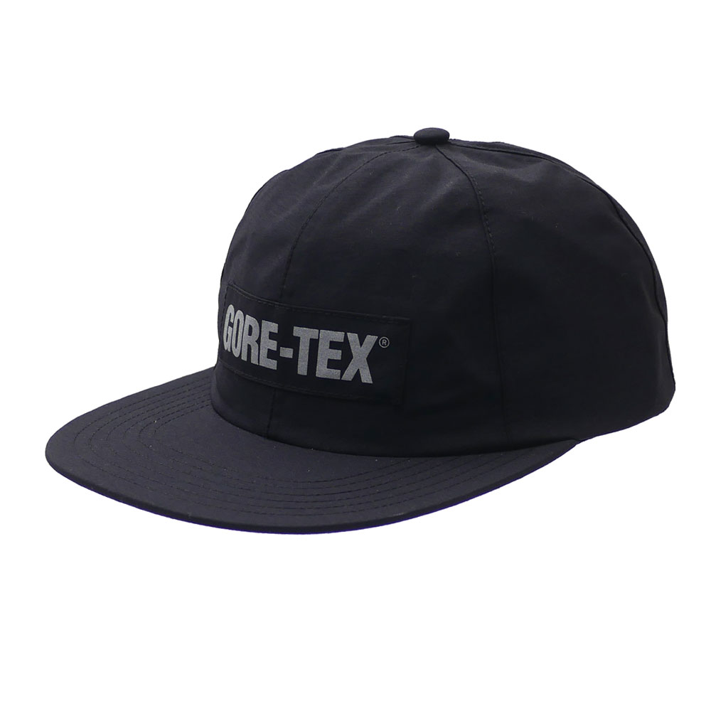 53e3ed99 Here comes a 6-Panel cap made of durable GORE-TEX fabric. Reflector print  is used for the front GORE-TEX logo and back SUPREME logo.