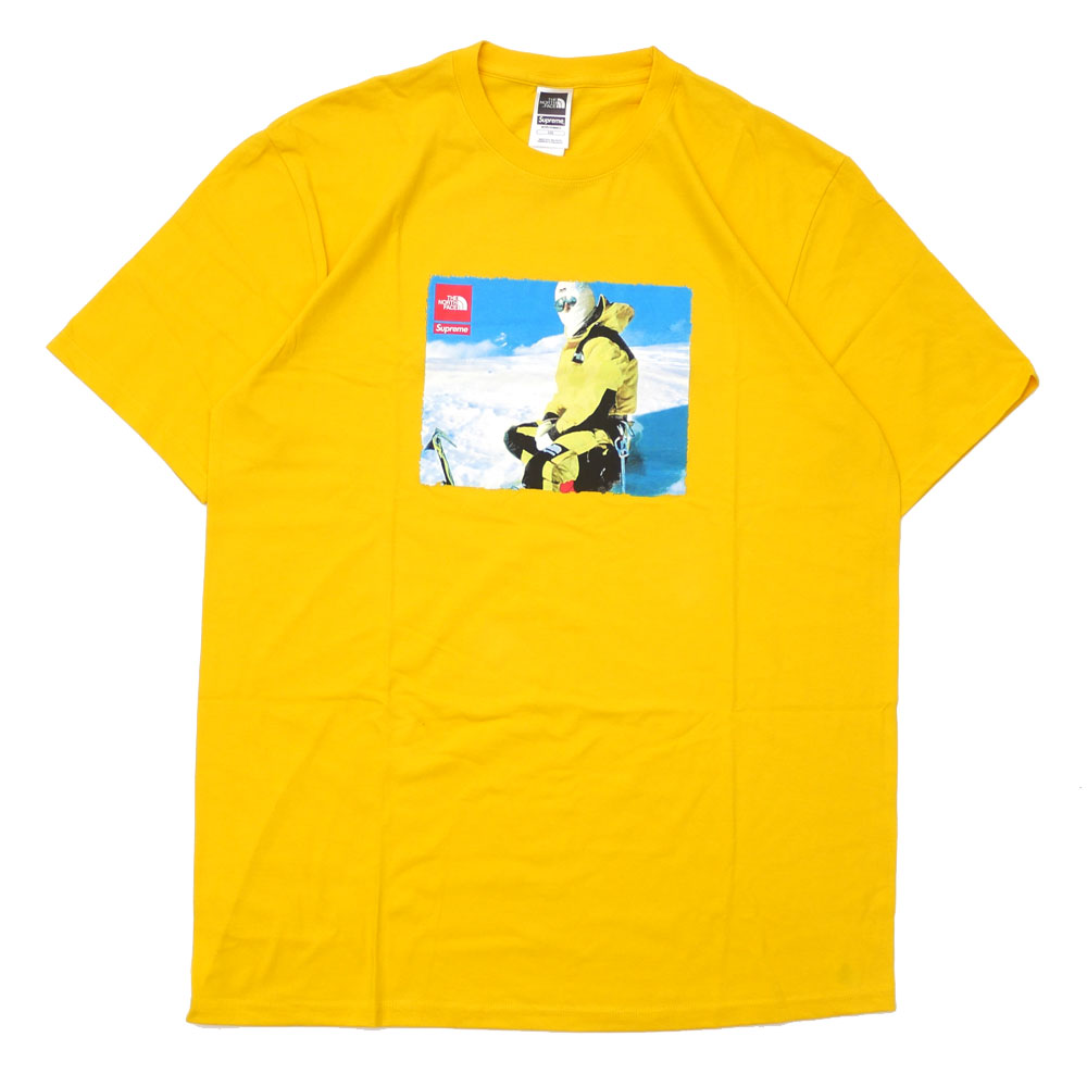 supreme yellow t shirt