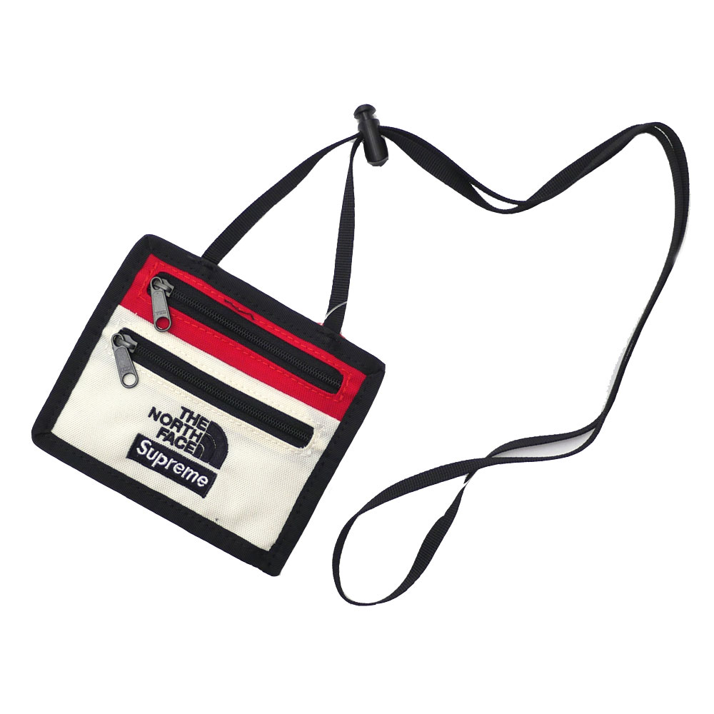 70db2f0b3 SUPREME x THE NORTH FACE : Expedition Travel Wallet WHITE | Millioncart