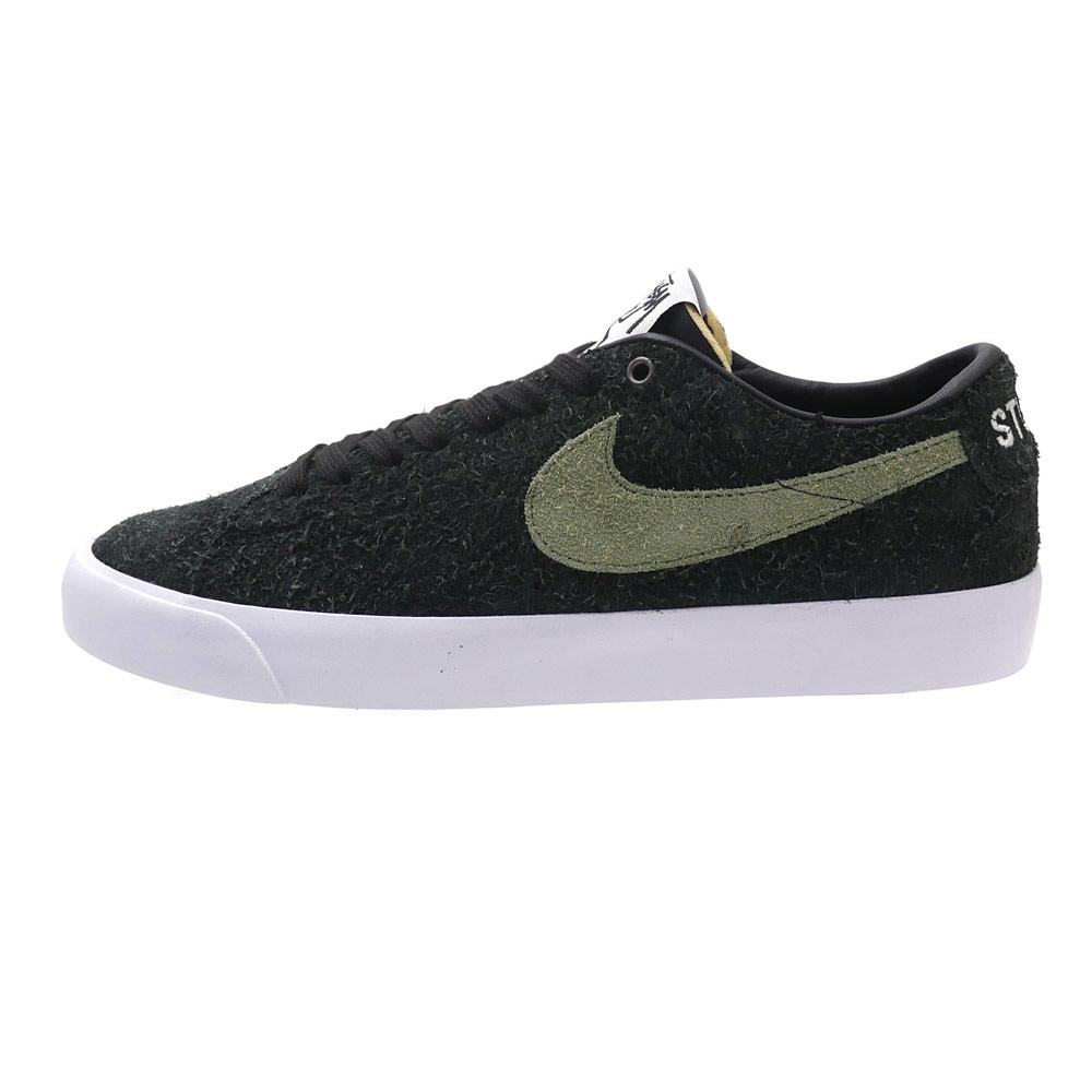 separation shoes 0cc64 92df0 NIKE SB x STUSSY : ZOOM BLAZER LOW QS BLACK | Millioncart