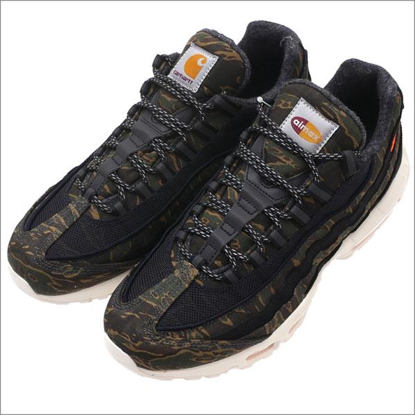 competitive price ceef7 cea55 Nike NIKE x car heart Carhartt WIP AIR MAX 95 WIP Air Max BLACK black black  men AV3866 001 291002526291