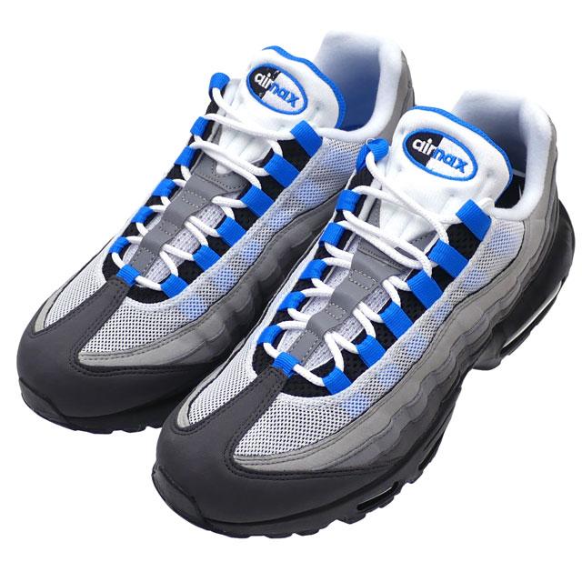 Nike NIKE AIR MAX 95 Air Max WHITE CRYSTAL BLUE crystal blue men AT8696 100  291002529294 a38c95d1ec7e