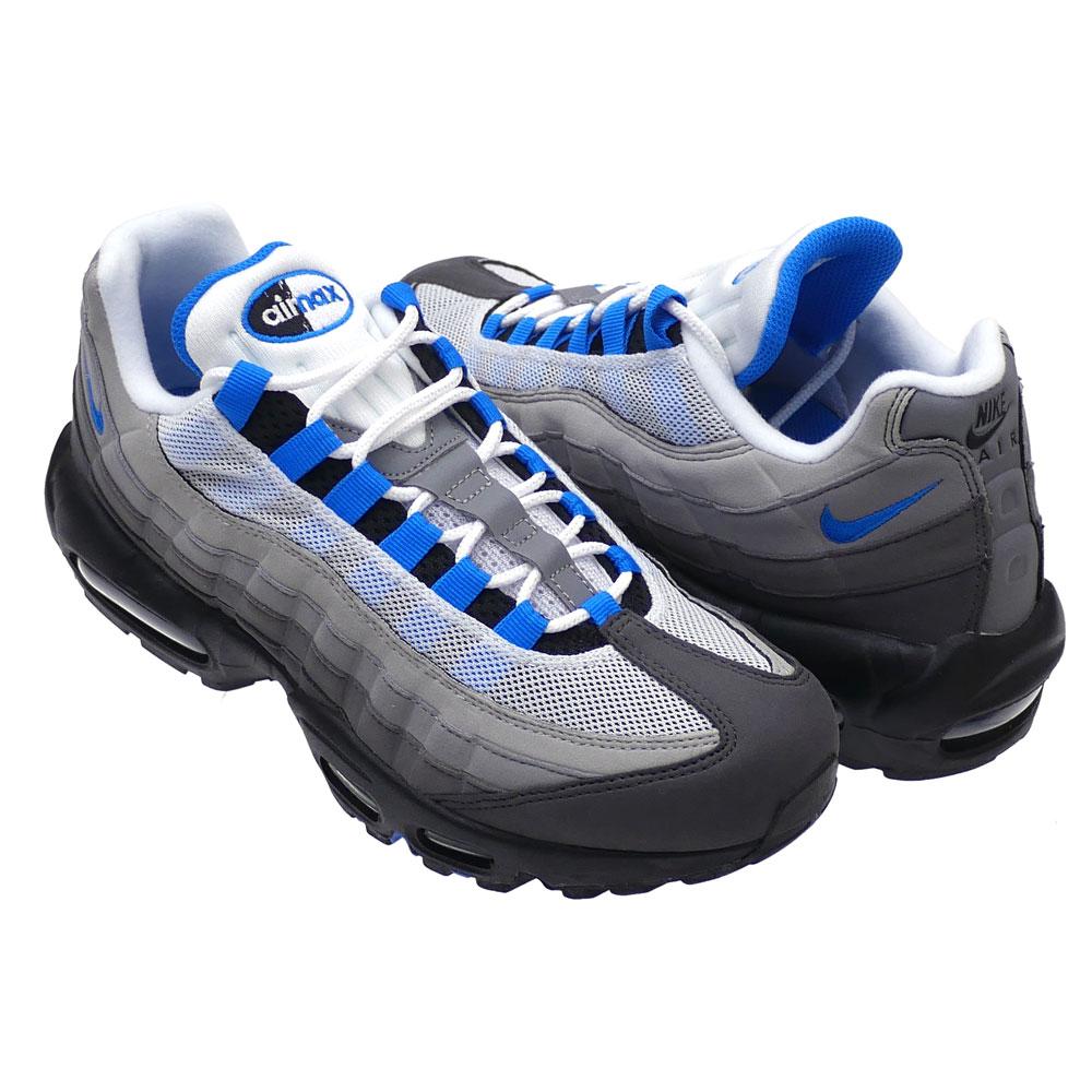 NIKE   AIR MAX 95 WHITE CRYSTAL BLUE  8fd871f3554e