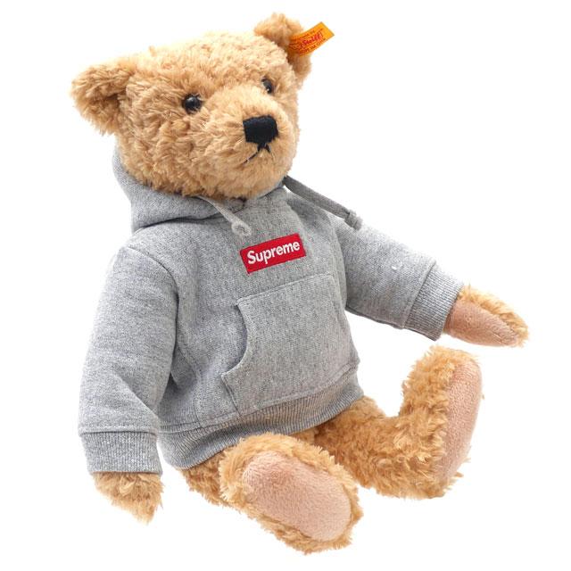 グレー シュプリーム SUPREME HEATHER シュタイフ ヘザー Bear レディース Steiff ベア GRAY 【新品】 283000465016 GREY メンズ