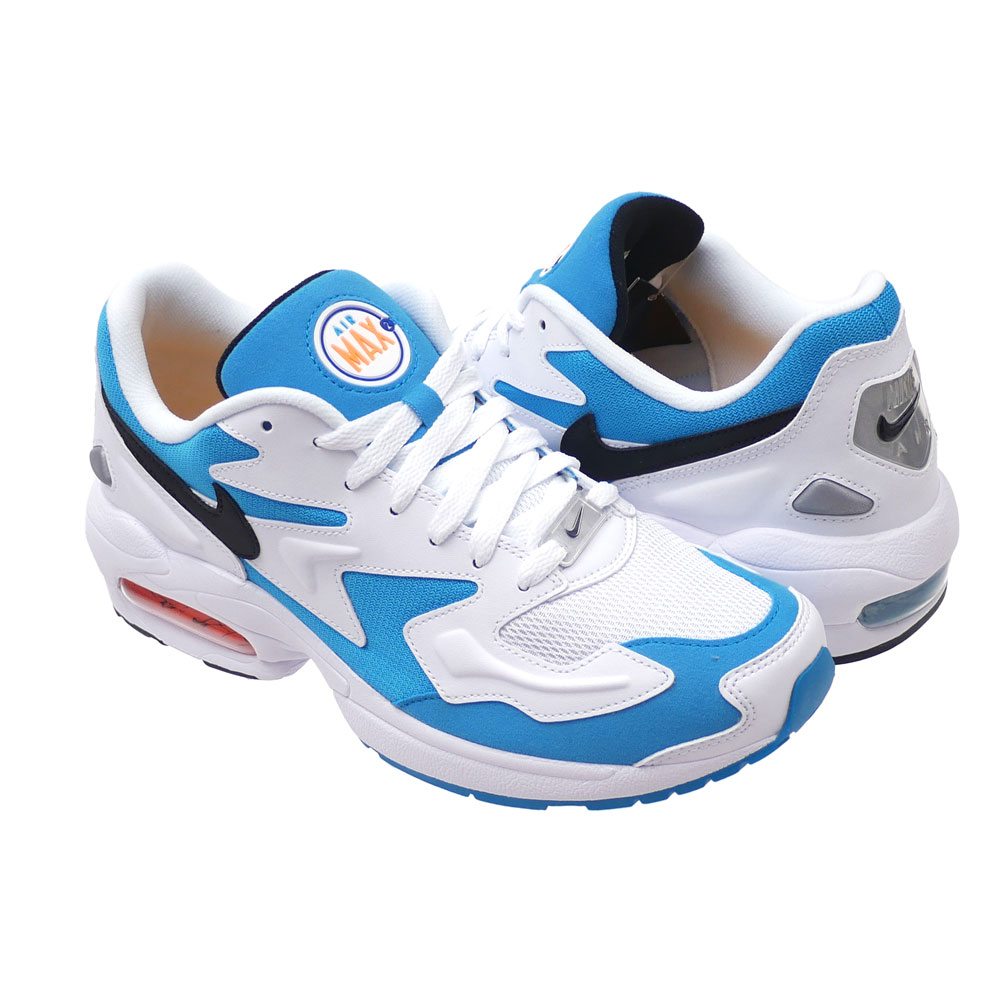 2f937db9cd AO1741-100. Here comes AIR MAX2 LIGHT whose coloration is almost same to  the original one. The combination of WHITE and BLUE LAGOON is brisk.