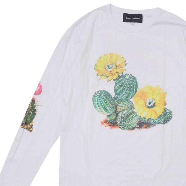 ビアンカシャンドン Bianca Chandon Cactus Longsleeve T-Shirt 長袖Tシャツ WHITE ホワイト 白 メンズ 【新品】 420000231030