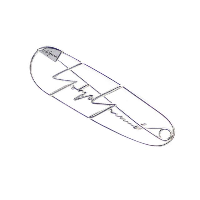 [次回のお買い物で使える500円OFFクーポン配布中!! 4/30(火)まで!!] ヨウジヤマモト Yohji Yamamoto SILVER PIN ピンズ SILVER シルバー 銀 メンズ レディース 【新品】 270000588012