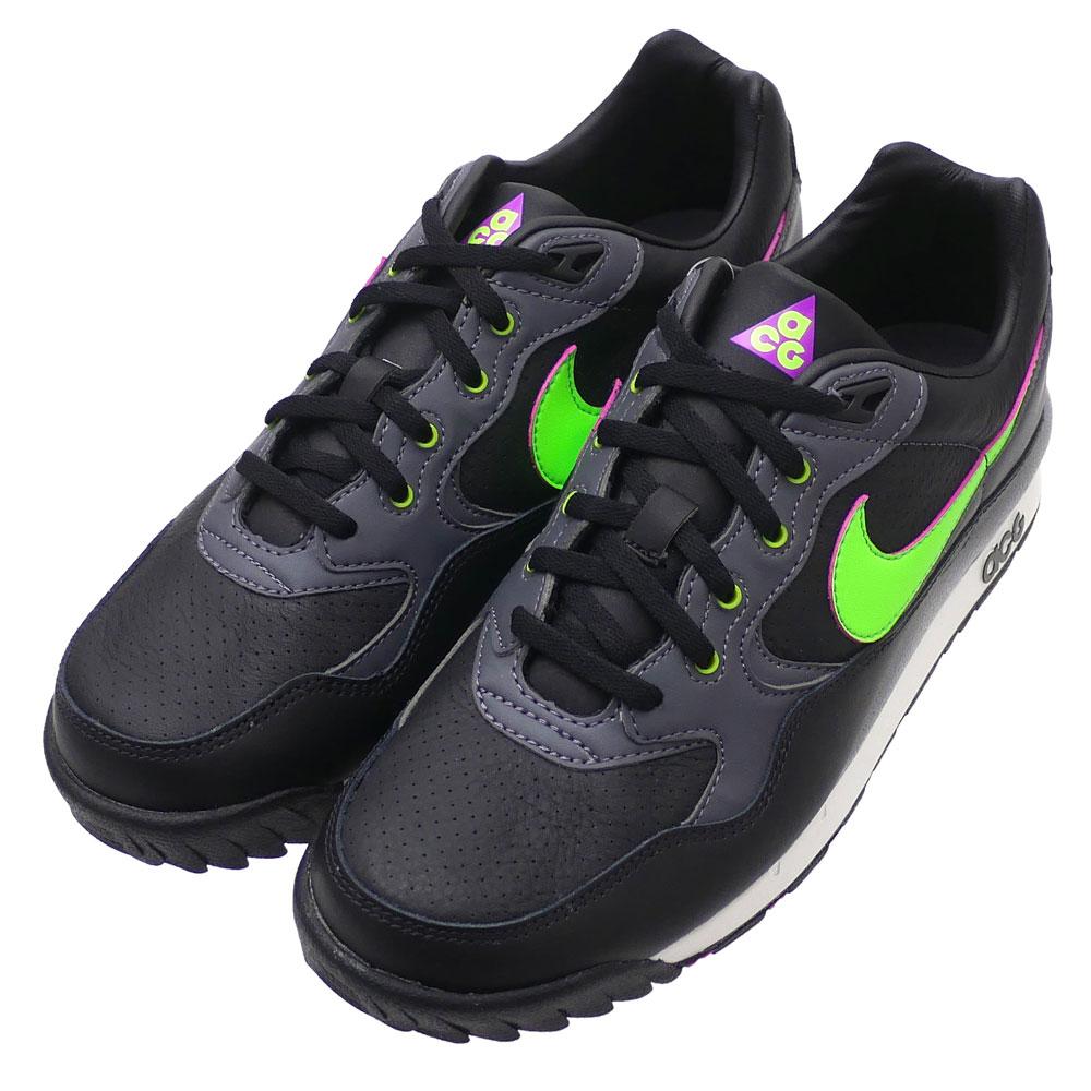 76db949f86 Nike NIKE AIR WILDWOOD ACG エアワイルドウッドエーシージー AO3116-002 BLACK/ELECTRIC GREEN  men 291002542281