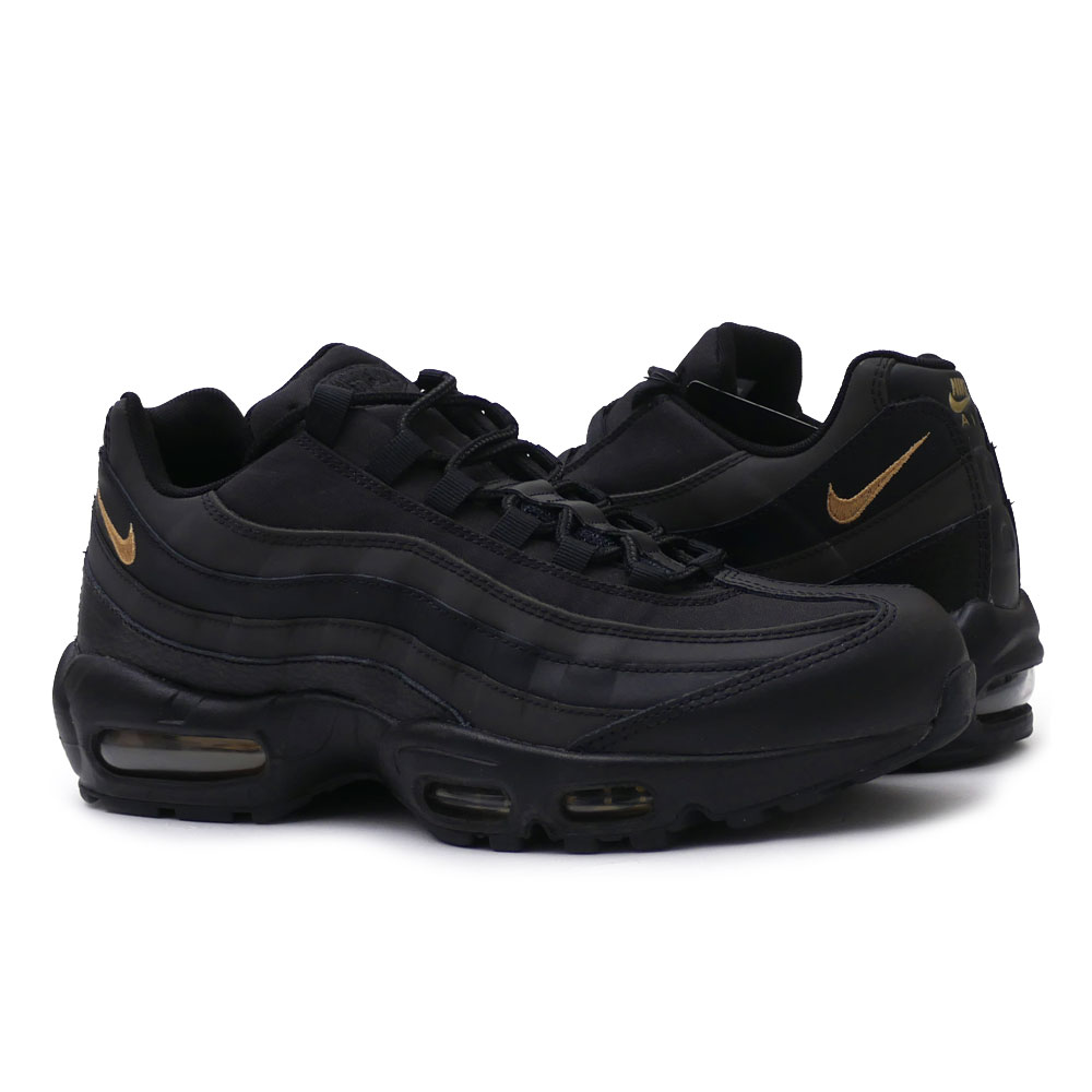 6048d29d4d Nike NIKE AIR MAX 95 PREMIUM SE Air Max BLACK/METALLIC GOLD men 924,478- ...