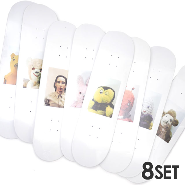 Mike Kelley 8枚セット Complete デッキ Skateboard Ahh...Youth! 【新品】 Set シュプリーム スケート SUPREME 418000627010
