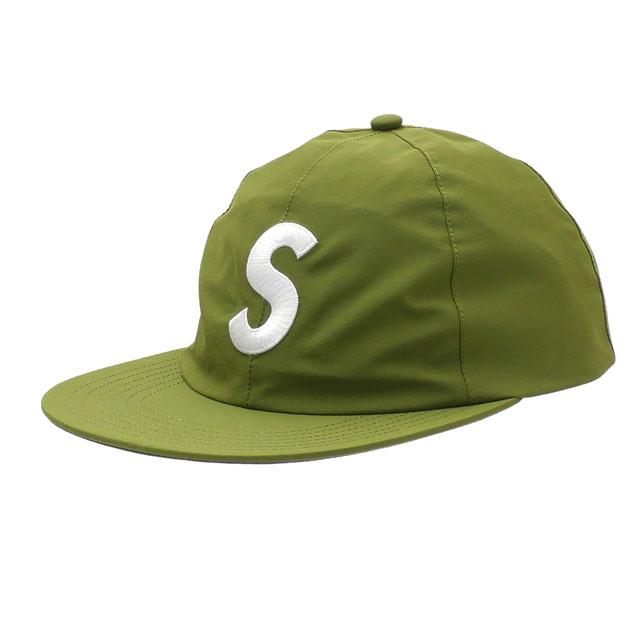 [次回のお買い物で使える500円OFFクーポン配布中!! 4/30(火)まで!!] 【14:00までのご注文で即日発送可能】 シュプリーム SUPREME 19SS GORE-TEX S-Logo 6-Panel ゴアテックス Sロゴ キャップ GREEN グリーン 緑 メンズ 【新品】 2019SS 265001151015