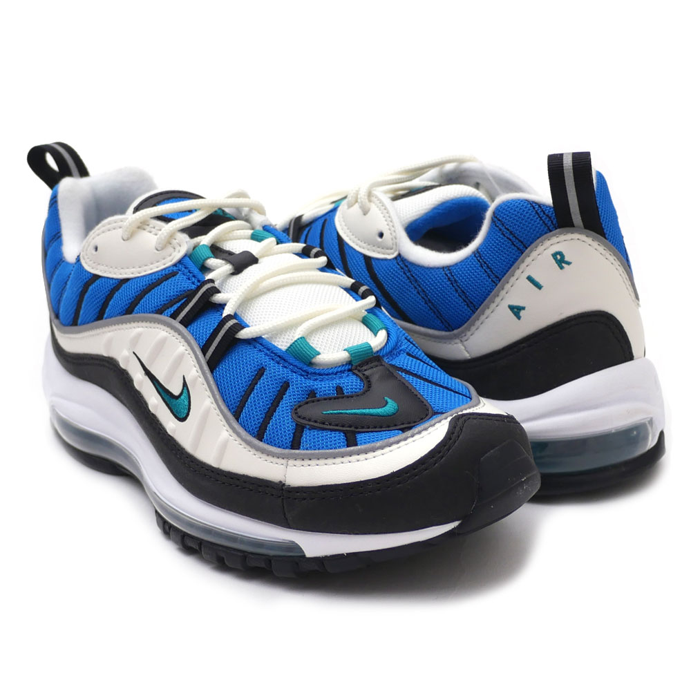 huge selection of d89a2 82af0 NIKE : W AIR MAX 98 SAIL / RADIANT EMERALD | Millioncart