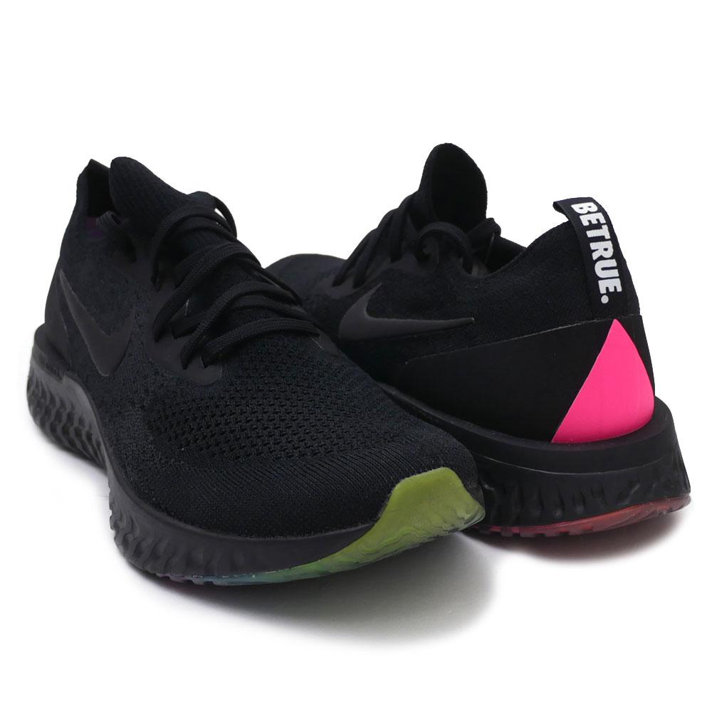 00e362c4133e6 Nike NIKE EPIC REACT FLYKNIT BETRUE epic re-act BLACK BLACK-PINK BLAST men  AR3772-001 191013064291