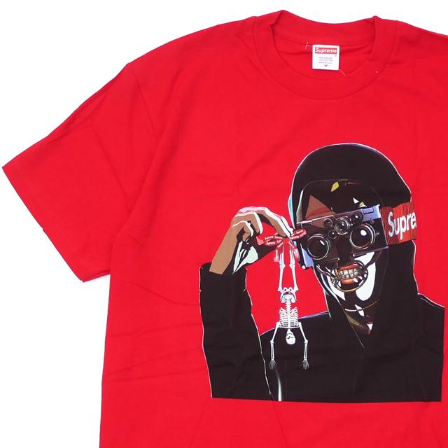[次回のお買い物で使える500円OFFクーポン配布中!! 4/30(火)まで!!] シュプリーム SUPREME 19SS Creeper Tee Tシャツ RED レッド 赤 メンズ 【新品】 2019SS 200008086043