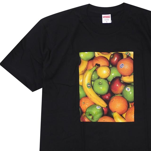 [次回のお買い物で使える500円OFFクーポン配布中!! 4/30(火)まで!!] シュプリーム SUPREME 19SS Fruit Tee Tシャツ BLACK ブラック 黒 メンズ 【新品】 2019SS 200008087041