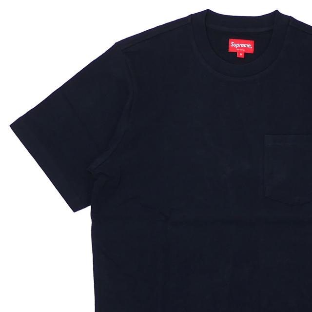 [次回のお買い物で使える500円OFFクーポン配布中!! 4/30(火)まで!!] シュプリーム SUPREME 19SS S/S Pocket Tee Tシャツ BLACK ブラック 黒 メンズ 【新品】 2019SS 202001052031