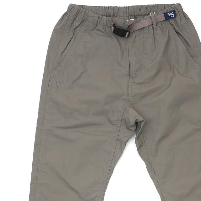 ロンハーマン RHC Ron Herman x グラミチ GRAMICCI Webbing Belt Double Face Pants クライミング パンツ CHARCOAL チャコール メンズ 【新品】 249000648032