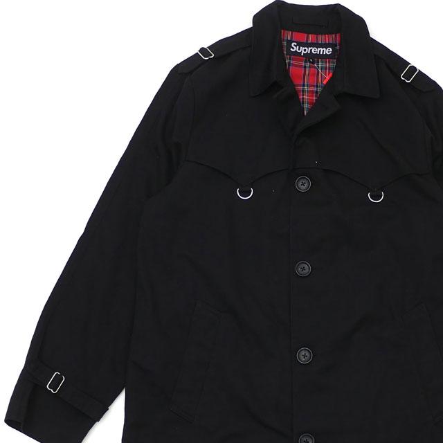 激安店舗 シュプリーム Trench SUPREME D-Ring Trench【新品】 Coat トレンチコート メンズ BLACK ブラック 黒 メンズ【新品】 418000701031:Cliff Edge, 海展貿易shop:5d3b8e6c --- nagari.or.id