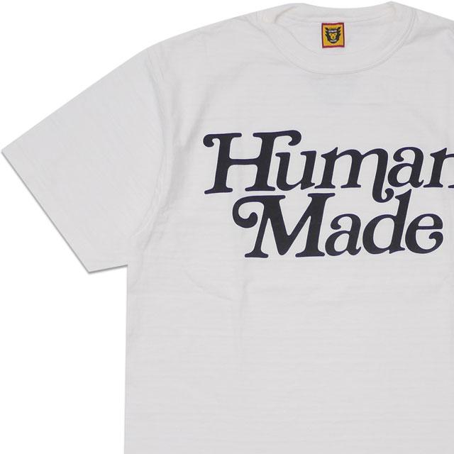 [次回のお買い物で使える500円OFFクーポン配布中!! 4/30(火)まで!!] 新品 ガールズドントクライ Girls Don't Cry x ヒューマンメイド HUMAN MADE T-SHIRT Tシャツ WHITE ホワイト 白 メンズ 新作 200008140050