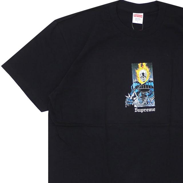 [次回のお買い物で使える500円OFFクーポン配布中!! 4/30(火)まで!!] 新品 シュプリーム SUPREME 19SS Ghost Rider Tee Tシャツ BLACK ブラック 黒 メンズ 新作 2019SS 200008147051