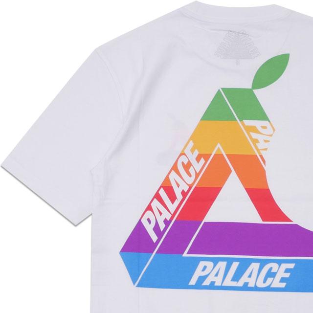 [次回のお買い物で使える500円OFFクーポン配布中!! 4/30(火)まで!!] 新品 パレス スケートボード Palace Skateboards 19SS JOBSWORTH T-SHIRT Tシャツ WHITE ホワイト 白 メンズ 新作 2019SS 200008149030