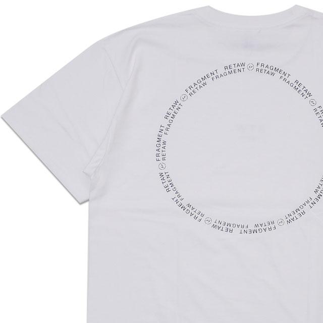 [次回のお買い物で使える500円OFFクーポン配布中!! 4/30(火)まで!!] 新品 フラグメントデザイン Fragment Design x リトゥ retaW Circle Logo T-shirt Tシャツ WHITE ホワイト 白 新作 200008148040