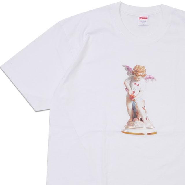 [次回のお買い物で使える500円OFFクーポン配布中!! 4/30(火)まで!!] 新品 シュプリーム SUPREME 19SS Cupid Tee Tシャツ WHITE ホワイト 白 メンズ 新作 2019SS 200008144050