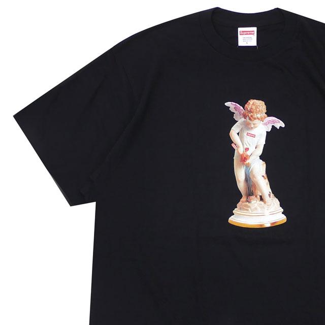 [次回のお買い物で使える500円OFFクーポン配布中!! 4/30(火)まで!!] 新品 シュプリーム SUPREME 19SS Cupid Tee Tシャツ BLACK ブラック 黒 メンズ 新作 2019SS 200008144051