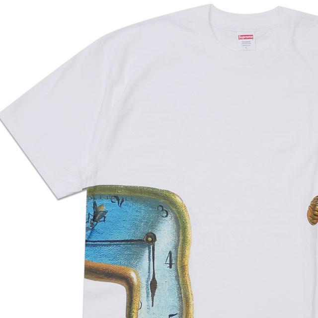 [次回のお買い物で使える500円OFFクーポン配布中!! 4/30(火)まで!!] 新品 シュプリーム SUPREME 19SS The Persistence of Memory Tee Tシャツ WHITE ホワイト 白 メンズ 新作 2019SS 200008142050