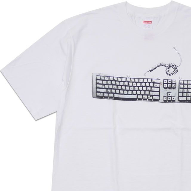 f5682310496b New シュプリーム SUPREME 19SS Keyboard Tee T-shirt WHITE white white men new work  2019SS