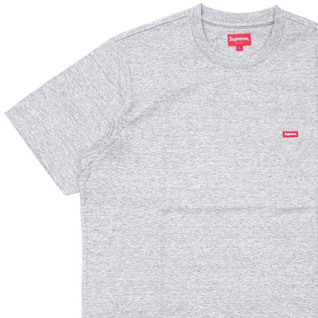 [次回のお買い物で使える500円OFFクーポン配布中!! 4/30(火)まで!!] 新品 シュプリーム SUPREME 19SS Small Box Tee Tシャツ GRAY グレー 灰色 メンズ レディース 2019SS 新作 203000315032